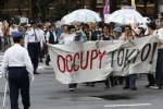 Occupy Wall Street lan tới Tokyo, Nhật Bản